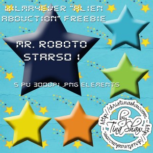 """Mr. Roboto"" Stars01 Freebie"