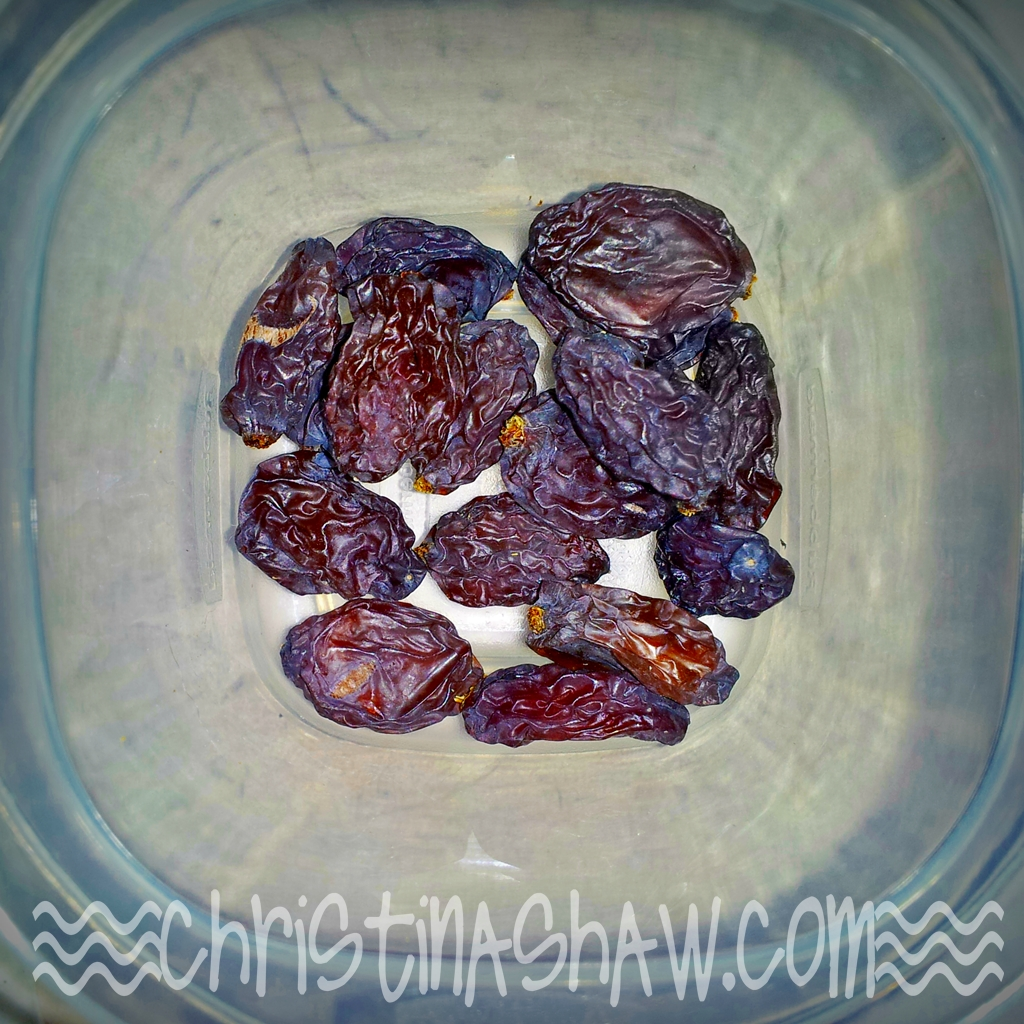 DIY Raisins!