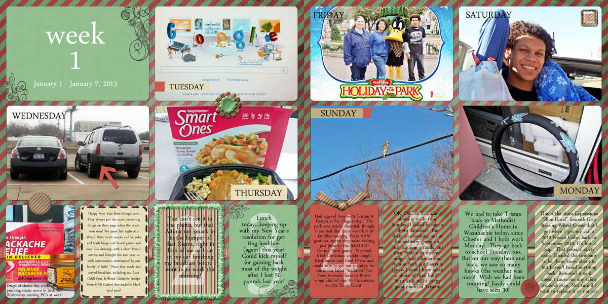 Anyone Here Do Project Lifelife 365 Style Scrapbooking Pixel