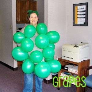 2006 - So, I stole the grapes idea from last year for dress-up day at work!  :)