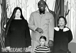 2008 - We did a family-themed costume this year: The Addams Family...pretty good, don't you think?