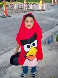 2011 - He is 6 and is the red Angry Bird!