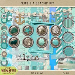 """""""Life's A Beach!"""" Kit"""