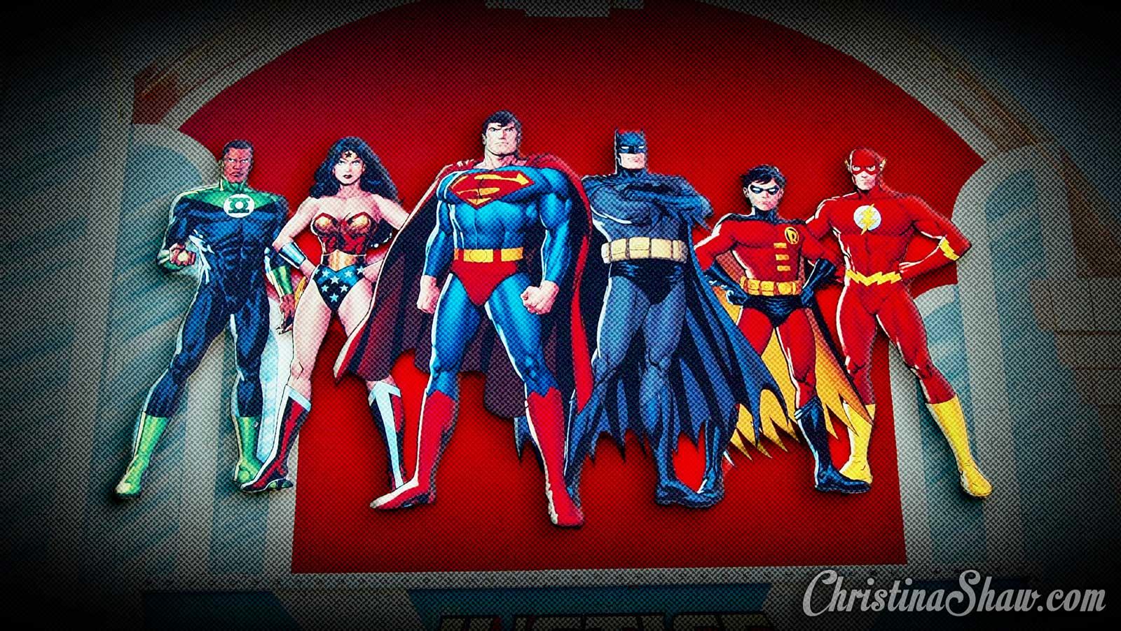 Free Justice League Desktop Wallpaper